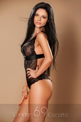 Very Sensitive and Delicate Brunette Escorts